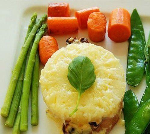Рецепты мясо под ананасом и