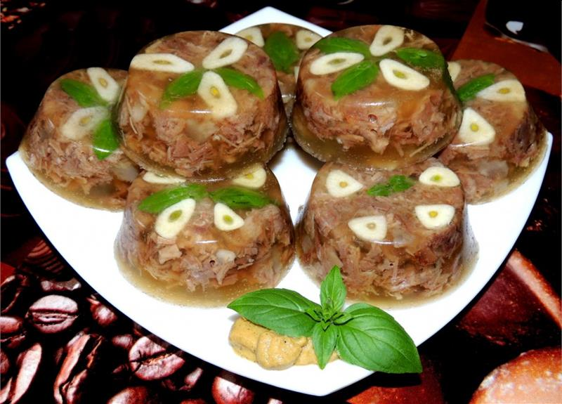 Холодец рецепт пошагово из мяса