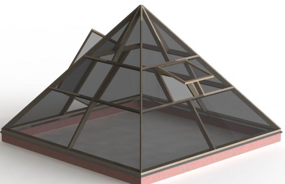 Изготовление пирамид своими руками 45