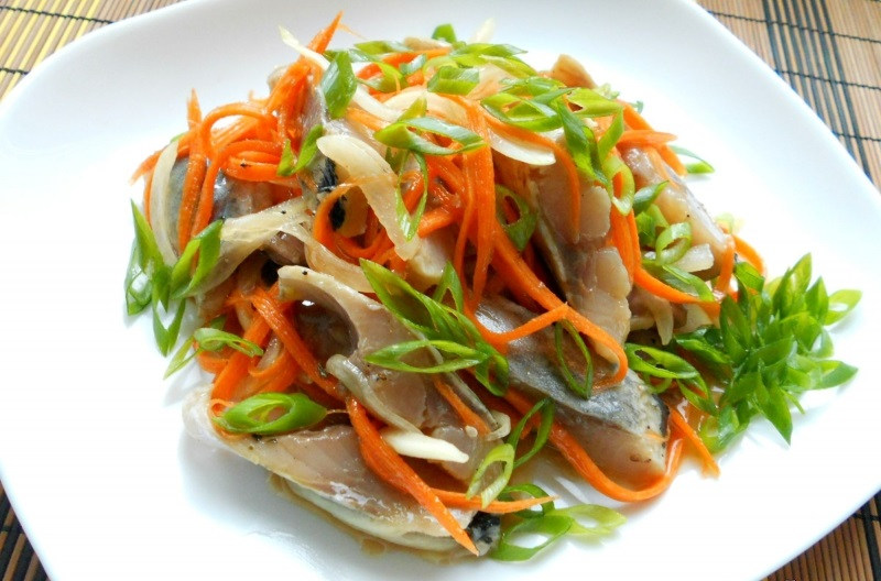 хе из сельди по корейски рецепты с фото свою симку