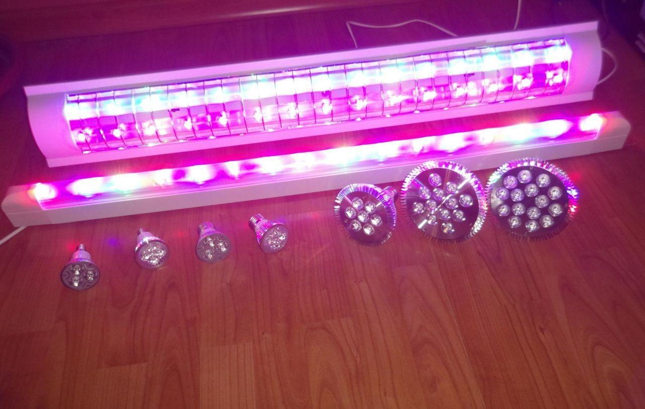 Светодиодные лампы для растений своими руками