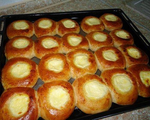 Как приготовить ватрушки с творогом домашний рецепт