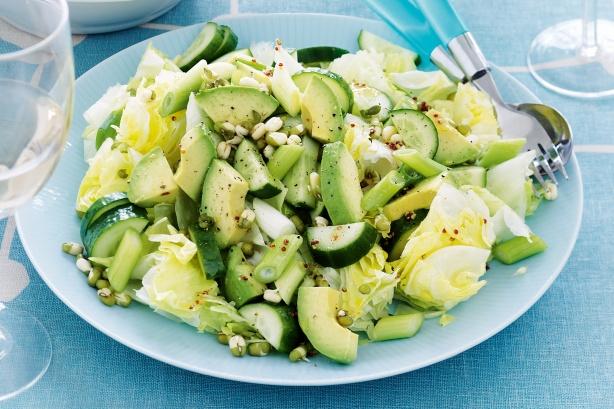 Зеленые салаты