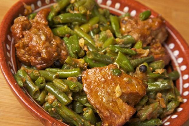 Фасоль тушеная с мясом и овощами рецепт пошагово в