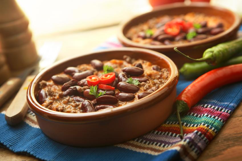 Мексиканское блюдо из фасоли рецепт